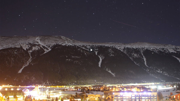 Meteor Showers Over Copper