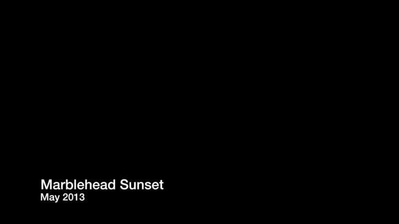 Marblehead Sunset