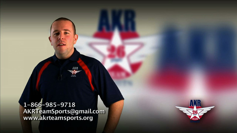Production: Young Kwak. Client: AKR Team Sports. :58 Web Video.