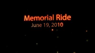 Memorial Ride 6-19-2010