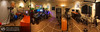 Digital Arts & Media Lab. This is a 240 degree panorama of the Digital Arts & Media Lab that I designed and independently managed at Meyer Sound Laboratories. This is where most of the content in my portfolio (3D Renderings, HD Videos, Technical Illustrations, and Product Photography) were created. Made up from a single row of vertical images. Three exposures at each position equaling 21 individual photos which were then stitched together and tone mapped to produce this final result. The original image is 18,457 x 5897 pixels, and weighs in at 604MB!
