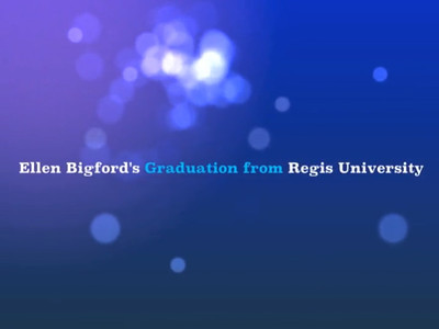 This is an impromptu video created for Ellen Bigfors''s Graduation from Nursing School.  She was very surprised and loved it!