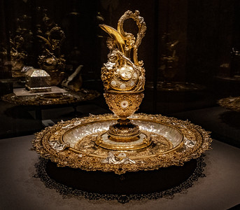 One Of Many Gold Items In the Royal Treasury Of The Habsburg Emperors