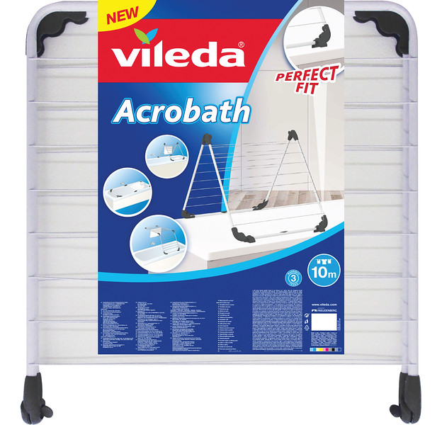 8630999 VILEDA kuivatusrest vannile Acrobath/10m 4023103201996