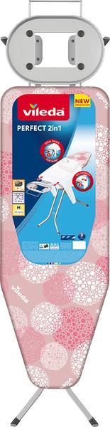 8632199 VILEDA Triikimislaud Perfect 2in1 roosa 4023103207356