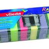 8611499 VILEDA Svammid 651 Rainbow 10tk 4023103073241