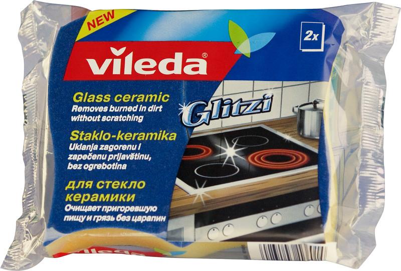 8610099 VILEDA Keraamilise pliidi puhastussvamm 930 Glitzi 2tk 4023103136014