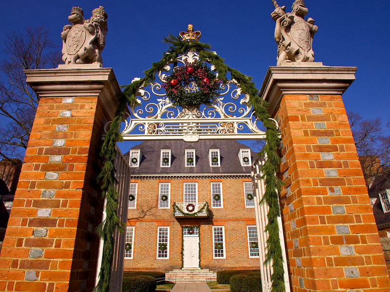 Main Gate at the Governor's Palace - Williamsburg, Virginia