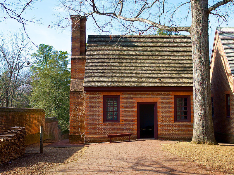 Outbuilding, Colonial Williamsburg - Williamsburg, Virginia