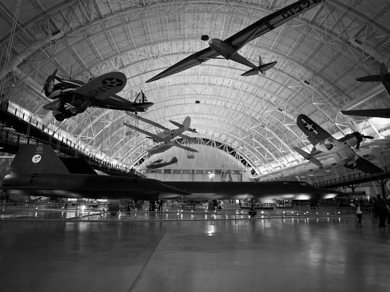 SR-71A Blackbird, Udvar-Hazy Center - Chantilly, Virginia