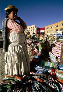 Bag Vendor, El Alto, 2000.