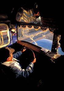 Chofer in the Altiplano, 1995.