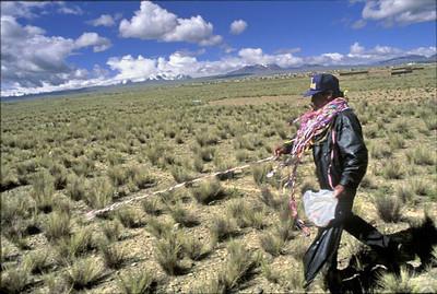 Urbanization of the Altiplano, 1996.