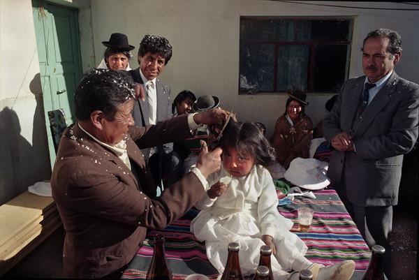 Rutuch'a in El Alto, 1995.