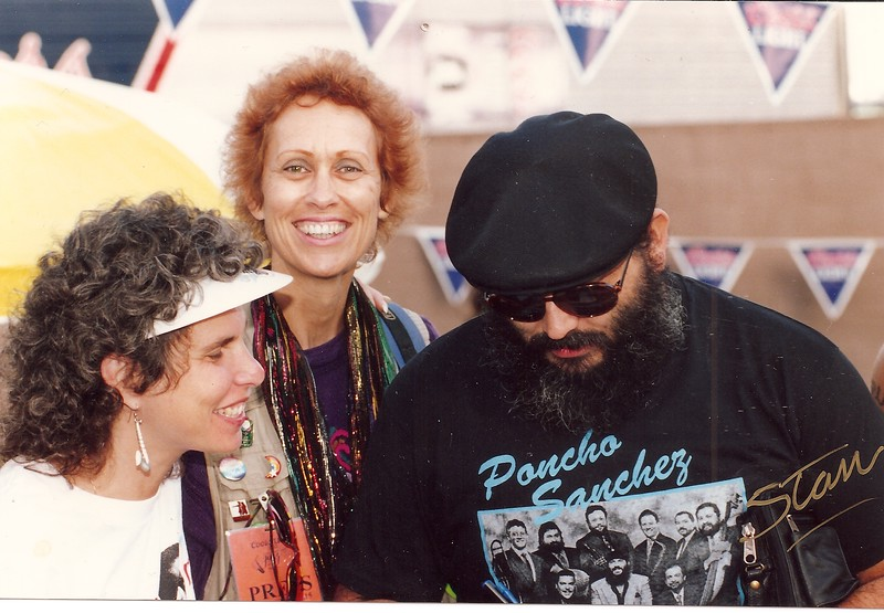 I was with Poncho Sanchez when he signed the previous photo in 1993!