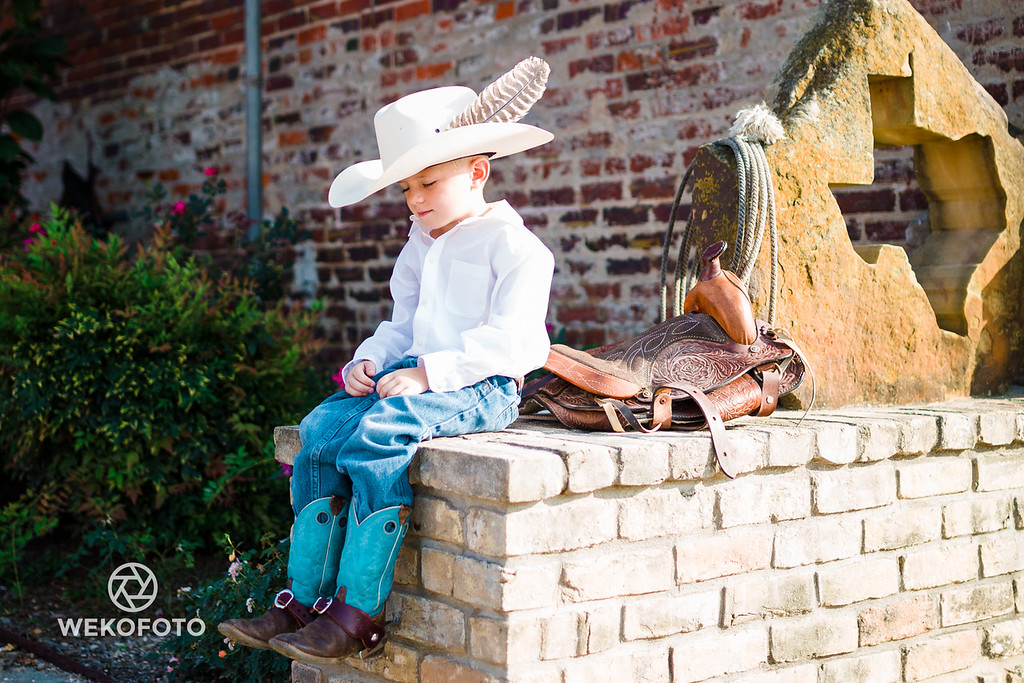Waiting for a Horse Ride