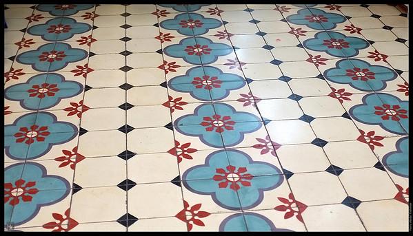 More tiles. Central Market.