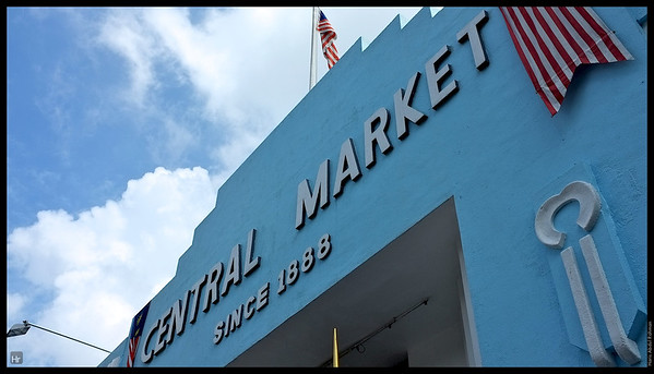 The main entrance. Central Market.