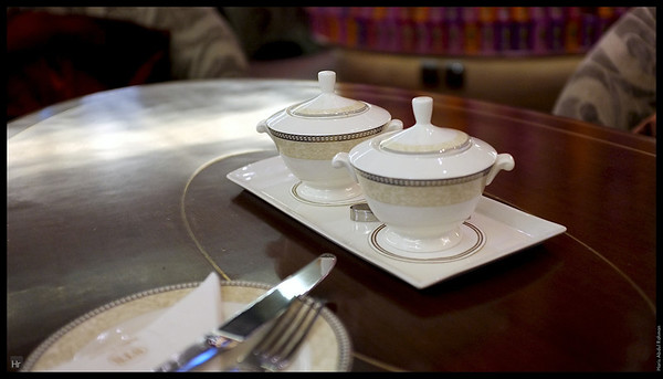 Waiting for Puan Anita's tea.  Starhill Tea Salon, Starhill Gallery, Bukit Bintang.