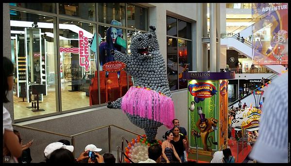 Pavilion promoting Madagascar!