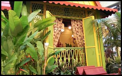 Nice replica Malay house  Aidilfitri 2013 Pavilion Kuala Lumpur