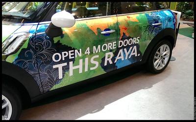 Four doors? That's not Mini!  Aidilfitri 2013 Pavilion Kuala Lumpur
