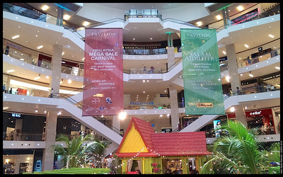 The main lobby was transformed  Aidilfitri 2013 Pavilion Kuala Lumpur