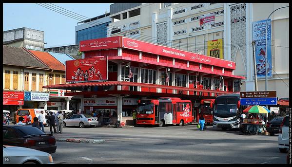 The KB Bus Terminal  Kota Bharu, Kelantan 14th October 2013