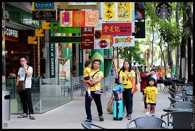 A brunch walk with Puan Anita
