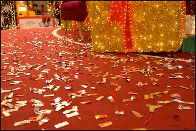 Xmas decorations at Pavilion Kuala Lumpur Nov-Dec 2014