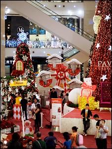 Xmas Decorations Pavilion Kuala Lumpur Nov-Dec 2014