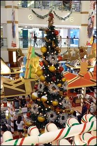 Xmas Decorations at Bangsar Shopping Centre Dec 2014