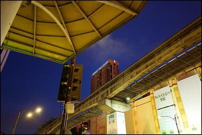 Blue hour at Bukit Bintang