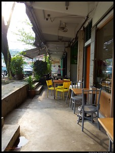 A pleasant Sunday afternoon coffee at The Pantry, Lorong Kurau, Bangsar