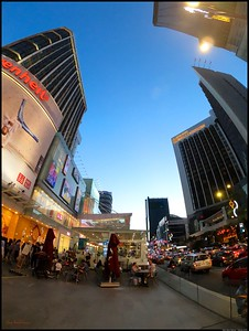 Blue Hour around Bukit Bintang