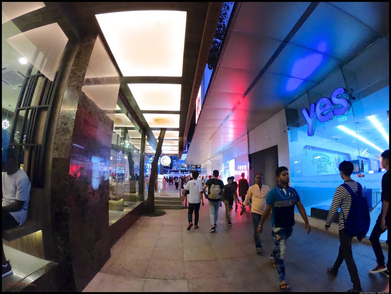 Blue Hour around Bukit Bintang