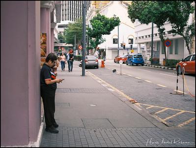 Quiet Sunday in the City