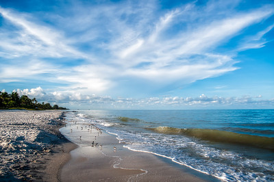 Long View of Naples Beach