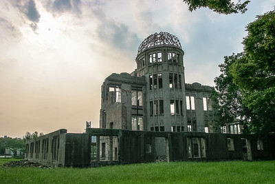 Bomb dome, Hiroshima, Japan