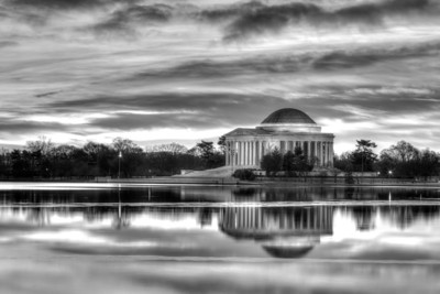 Day 34: Jefferson Monochrome