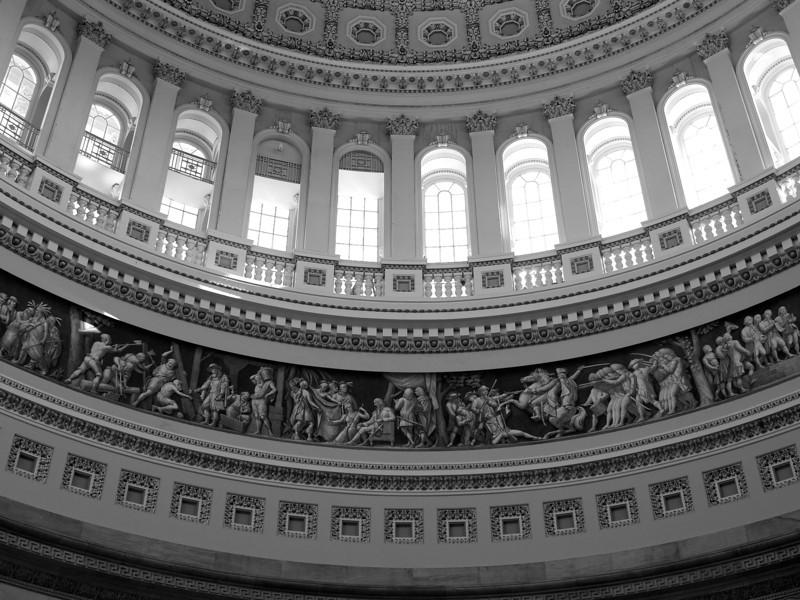 Dome Details, United States Capitol - Washington DC