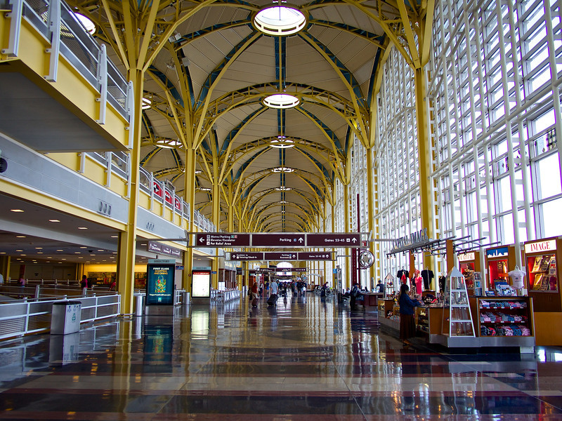 Terminal B and C Concourse, Reagan Washington National Airport - Washington DC