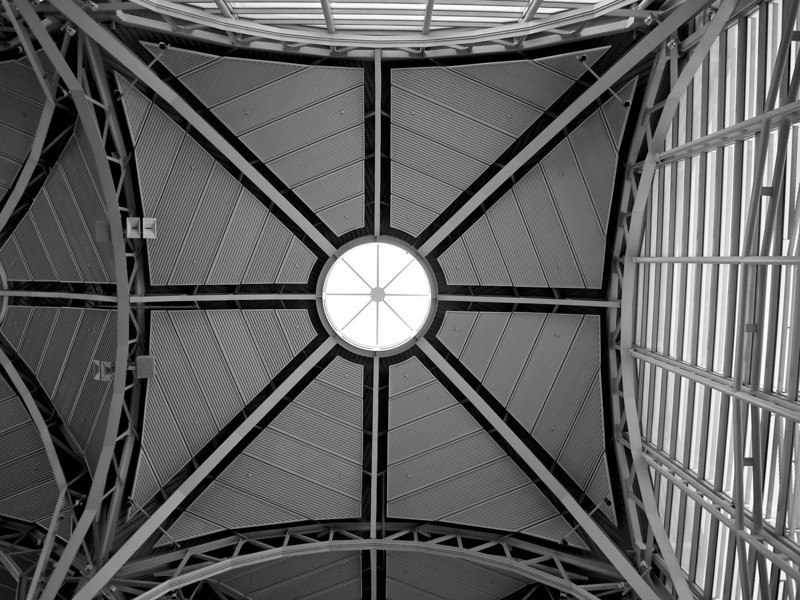 Ceiling Detail #1, Reagan Washington National Airport - Washington DC