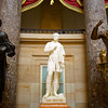 Sam Houston in Statuary Hall, United States Capitol - Washington DC