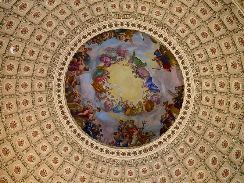 Dome Artwork, United States Capitol - Washington DC