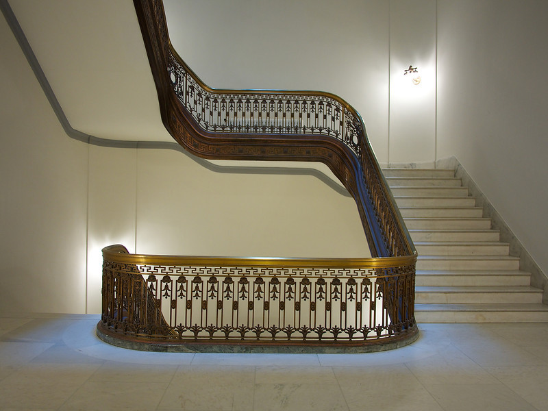 Ornate Banister, Russell Senate Office Building - Washington DC