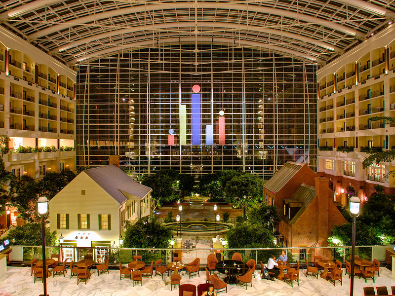 The Atrium, Gaylord National Resort - National Harbor, Maryland
