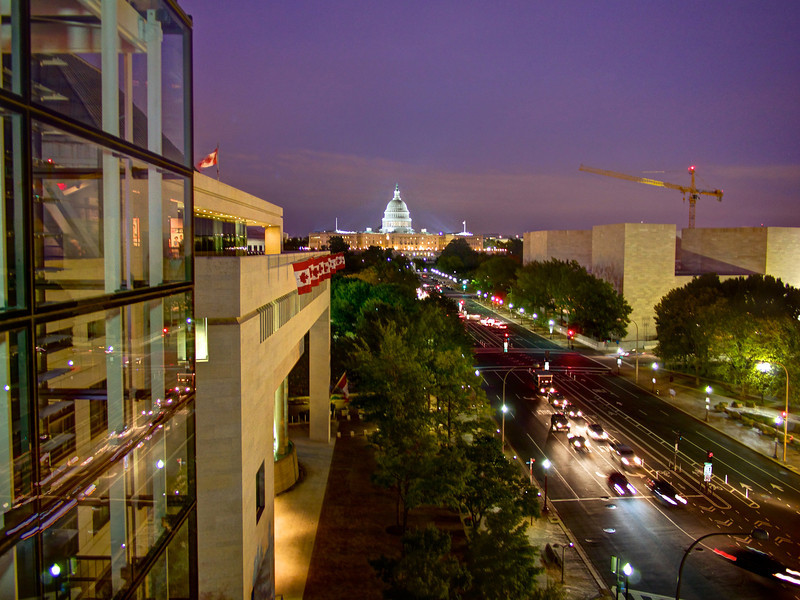 U.S. Capitol from the Newseum - Washington, DC