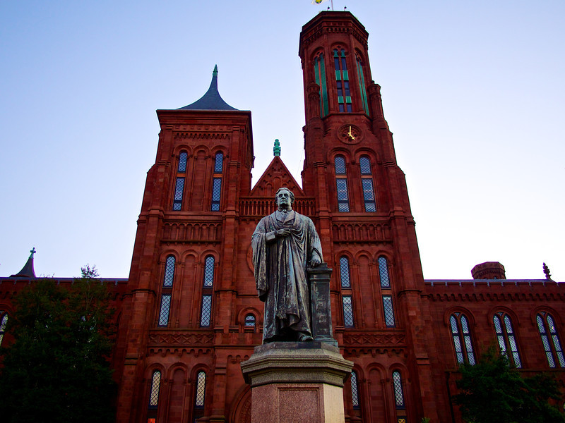 Joseph Henry and the Smithsonian Castle - Washington DC