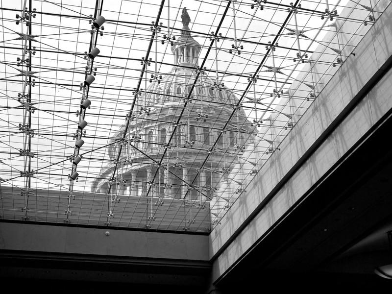 Capitol through Skylight - Washington DC